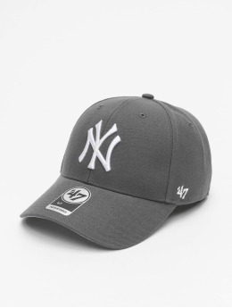 '47 Snapback Cap MLB New York Yankees MVP grau