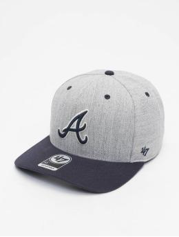 '47 Snapback Cap MLB Atlanta Braves Storm Cloud MVP DP grau