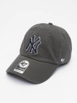 '47 Snapback Cap MLB New York Yankees Clean Up grau