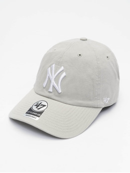 '47 Snapback Cap MLB New York Yankees Clean Up grau