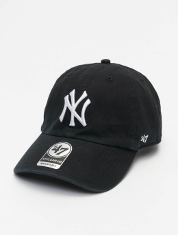 '47 Snapback Cap MLB New York Yankees Clean Up  schwarz