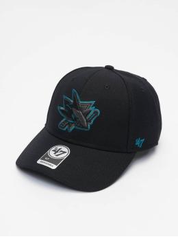 '47 Snapback Cap NHL San Jose Sharks MVP schwarz