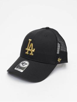 '47 Trucker Cap MLB Los Angeles Dodgers Branson Metallic  schwarz