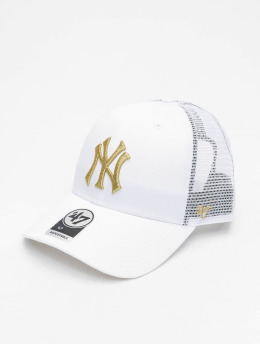 '47 Trucker Cap MLB New York Yankees Branson Metallic  weiß