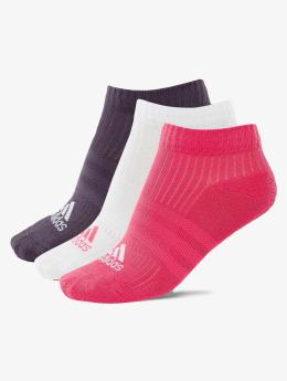 adidas originals Sokker 3-Stripes Per n-s HS 3-Pairs lyserosa