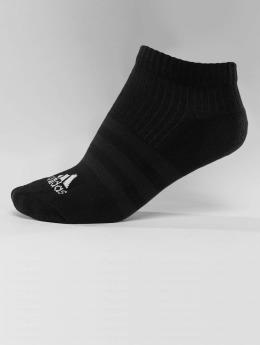 adidas Performance Chaussettes 3-Stripe No Show noir
