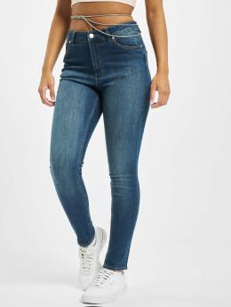 Cheap Monday Skinny Jeans High Skin niebieski