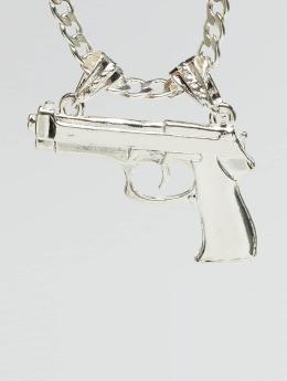 Paris Jewelry Kaulaketjut Pistol hopea