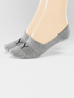 Puma Strømper 2-Pack Footies grå