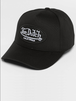 Von Dutch snapback cap California zwart