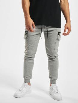 Aarhon Cargo pants Zipper  gray