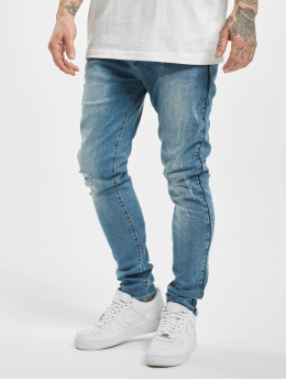 Aarhon Jean skinny Flin bleu
