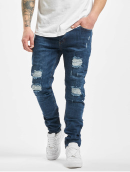 Aarhon Jean skinny Doug bleu