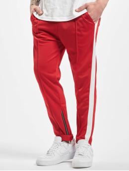 Aarhon joggingbroek Stripe  rood