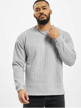 Aarhon Pullover Pinstripe  gray