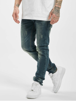 Aarhon Slim Fit Jeans Used blue