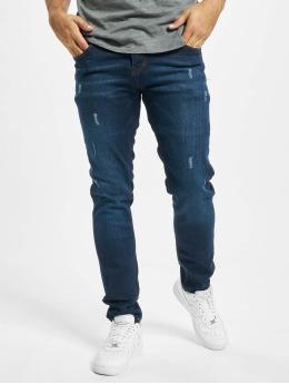 Aarhon Slim Fit Jeans Harvey modrý