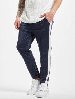 Aarhon Spodnie do joggingu Stripe niebieski