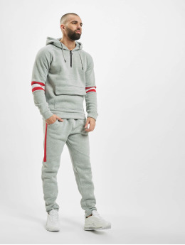 Aarhon Suits Stripes  grey