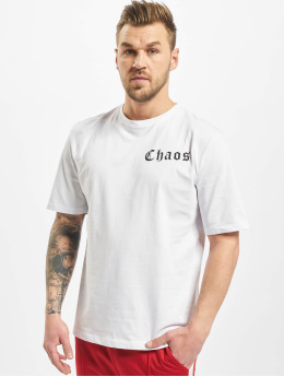 Aarhon T-Shirt Chaos blanc