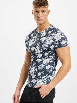 Aarhon T-Shirt Florals blanc