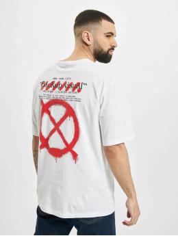 Aarhon T-Shirt Visual  blanc