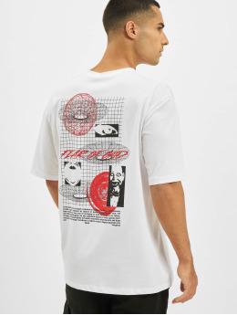 Aarhon T-Shirt Fear  blanc