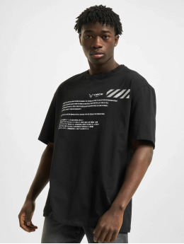 Aarhon T-Shirt Code  schwarz