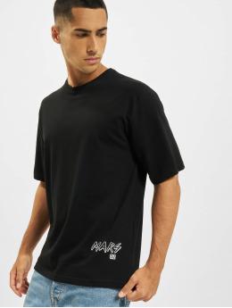 Aarhon T-Shirt Mars  schwarz