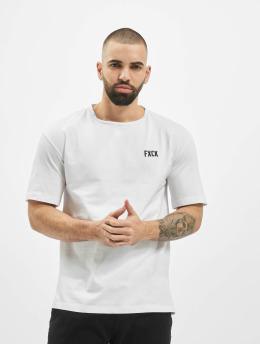Aarhon T-Shirt Fxck  weiß