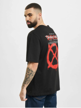 Aarhon T-Shirty Visual  czarny