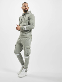 Aarhon Trainingspak Velcro  grijs