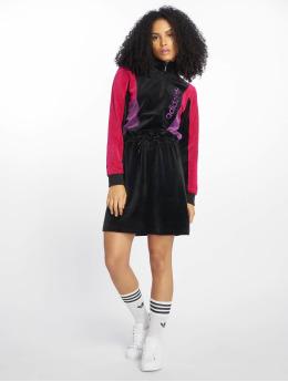 adidas originals Šaty Colorblock čern