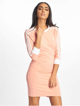 adidas originals Šaty 3 Stripes ružová