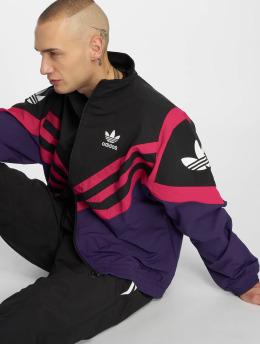 adidas originals Демисезонная куртка Sportive пурпурный