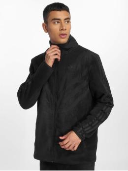 adidas originals Демисезонная куртка Pfleece черный