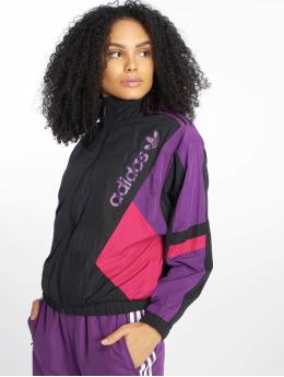 adidas originals Демисезонная куртка Label  черный