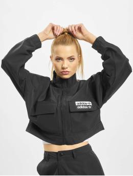 adidas Originals Демисезонная куртка Retro  черный
