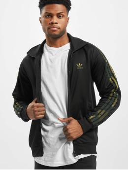 adidas Originals Демисезонная куртка Camo  черный
