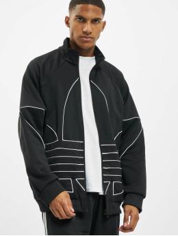 adidas Originals Демисезонная куртка Big Trefoil Out Polytrico черный