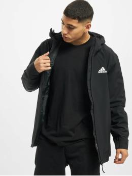 adidas Originals Демисезонная куртка BSC 3-Stripes Rain черный