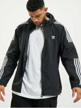 adidas Originals Демисезонная куртка 3-Stripes  черный