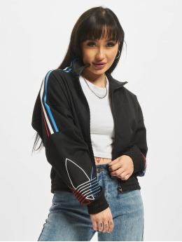 adidas Originals Демисезонная куртка Tricolor Trefoil  черный