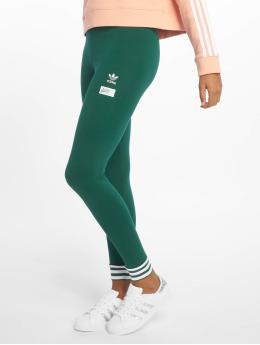 adidas originals Леггинсы Originals  зеленый