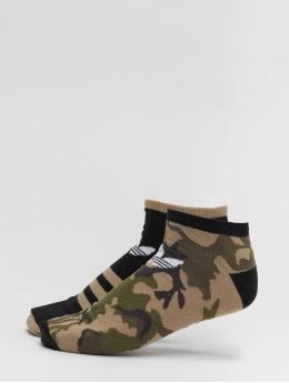 adidas originals Носки Camo Crew 2PP камуфляж