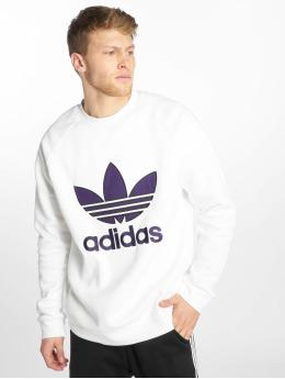 adidas originals Пуловер Trefoil белый