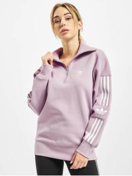 adidas Originals Пуловер Lock Up розовый