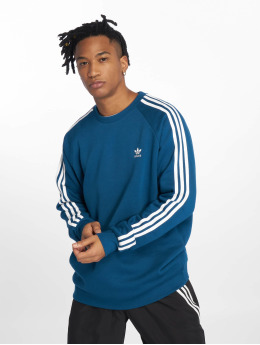 adidas originals Пуловер Originals 3-Stripes синий