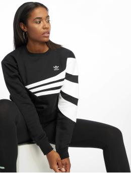 adidas originals Пуловер Diagonal  черный