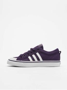 adidas originals Сникеры Nizza W пурпурный